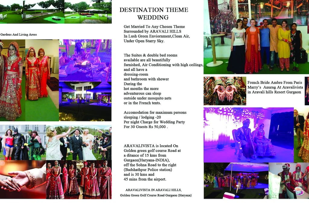 Destination Theme Wedding