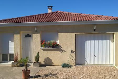 Maison récente 2 ch. proche des parcs d'Auvergne - Les Martres-de-Veyre