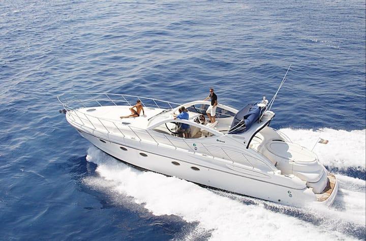 Lux logeren op een 17 meter yacht in Tenerife