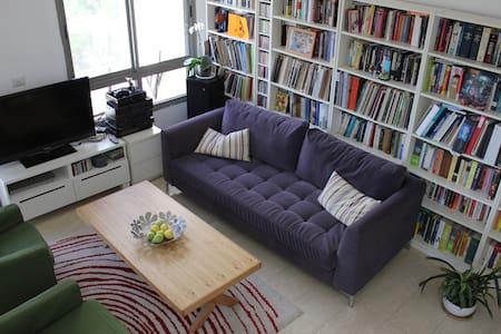 Beautiful Super Comfort 4BR Penthouse in Tel Aviv - Tel Aviv-Yafo - Apartamento
