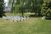 Great location for your ceremony