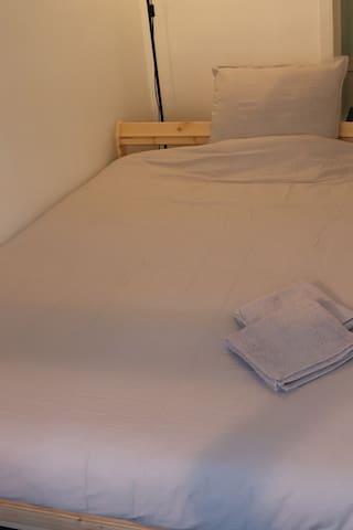 We always make sure the bed sheet, pillowcase and quilt cover are changed and clean every day.