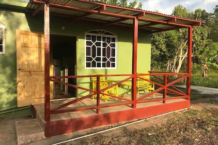 homey Jamaican studio