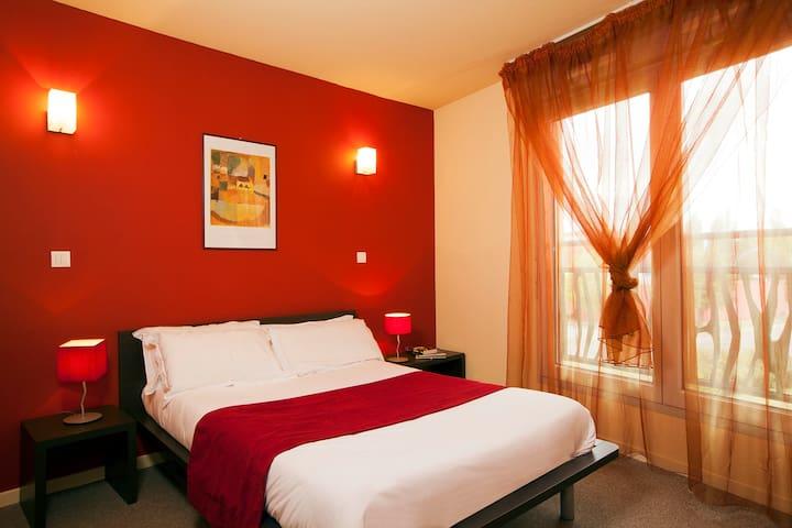 Studio lit double pour 2 personnes - Valence - Apartament