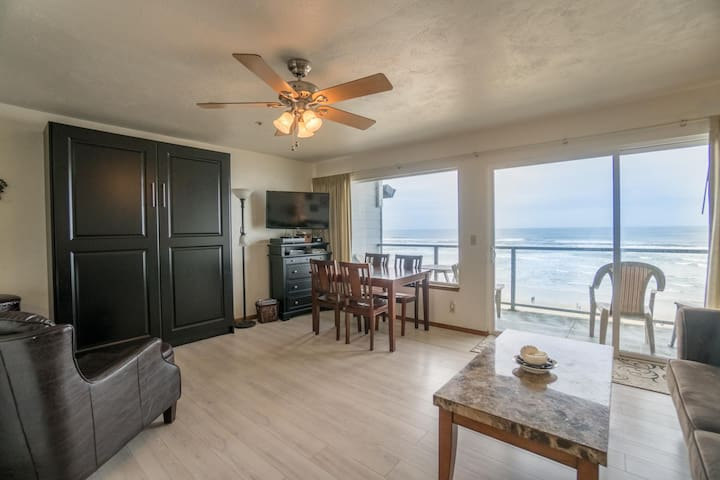 """Surf and Sand"" - Enjoy the surf and the sand from this Oceanfront condo!"