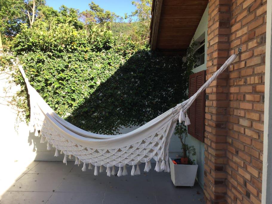 Uma rede para relaxar !!