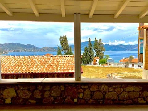 Hus med fantastisk utsikt i Selimiye Village