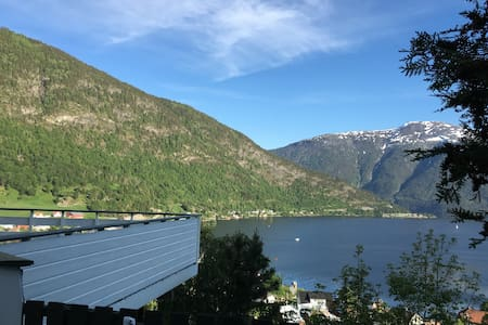 Cosy classical house, amazing view! - Sogndal - Haus