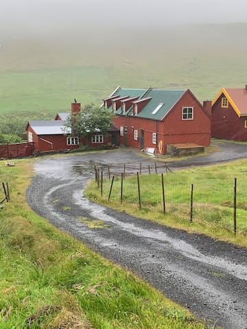 Cozy farm house