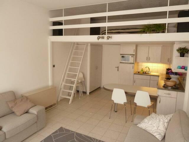 Gerenoveerde studio Nieuwpoort-Bad (4-6p) - Nieuwpoort - Lägenhet
