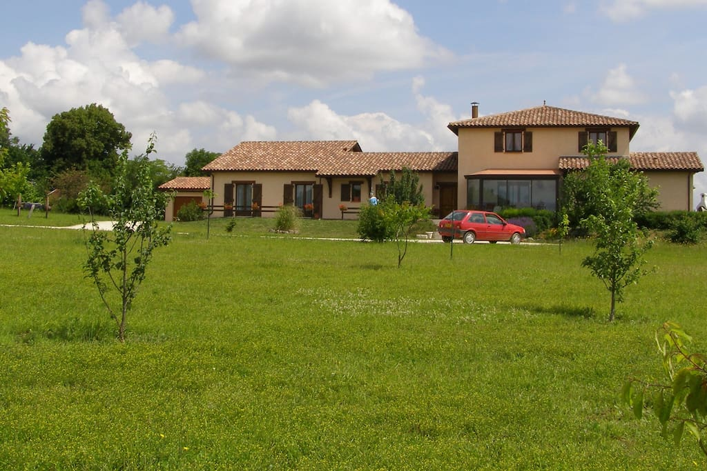 Chambre d 39 h te petit village du gers maisons louer cadeilhan occitanie france - Chambre d agriculture du gers ...