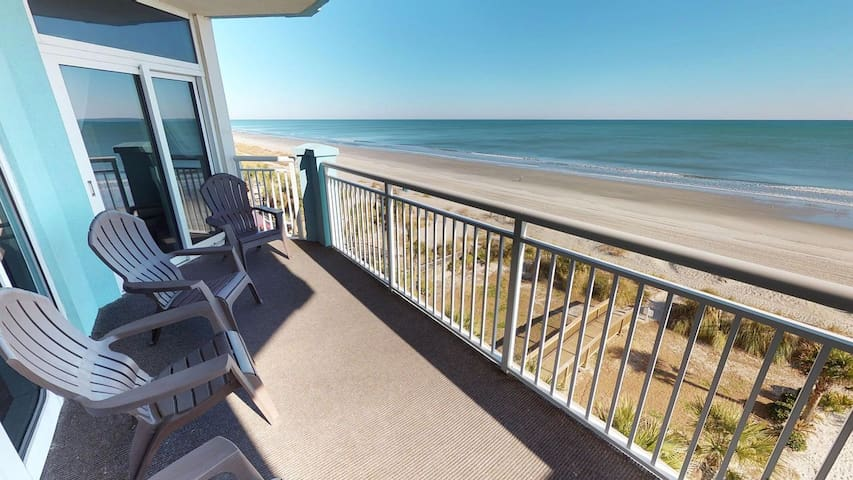 Amazing 4 Bedroom 5th Floor Unit with 180 Degree Sweeping Ocean Views!
