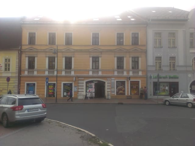 Apartmán v podkroví v centre mesta - Banská Bystrica