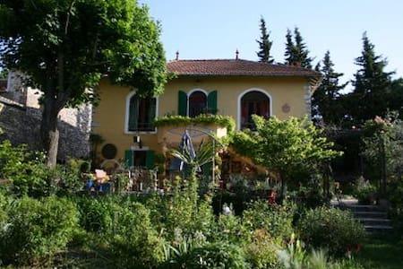VALAUREL La maison de famille - La Bruguière