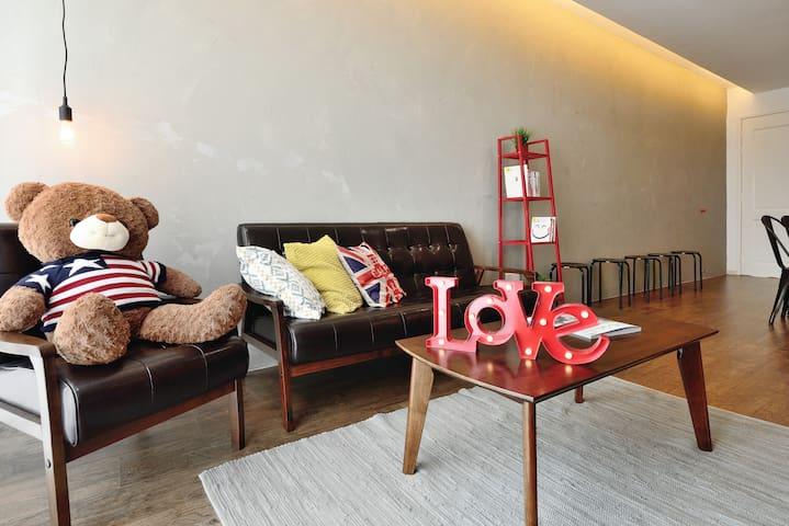 Loft Style 1+1 Apt Mt.Austin JB - Johor Bahru - Apartment