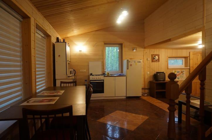 Уютный коттедж на 2 семьи в Вырице. - Vyritsa