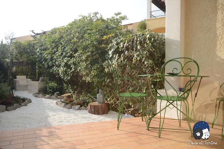 One Bedroom Appartment with garden 600m from the sea - Dodo et Tartine