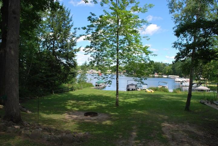Tri-Lakes Waterfront House w/ Dock