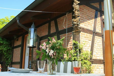 Romantisches Mini-Landhaus im Shabby Chic - Fehmarn