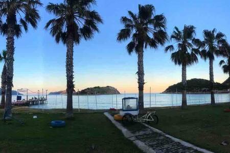 Şakayık2 plaja yürüyüş ile 5 dk Tisan Öztaş Apart