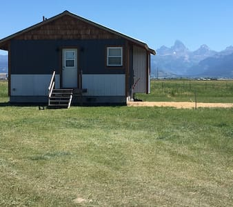 Country Cabin with Teton Views - Ház