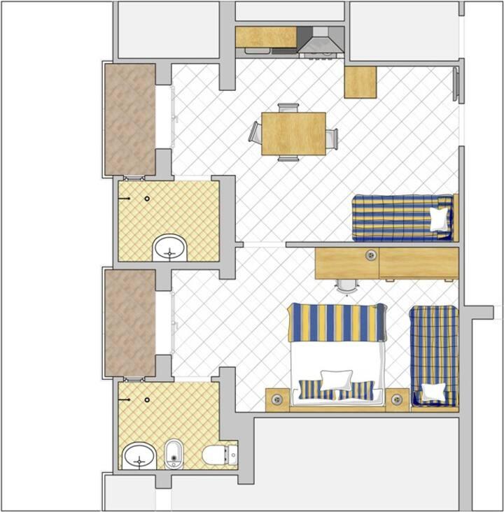 Bilocale in residence (104)