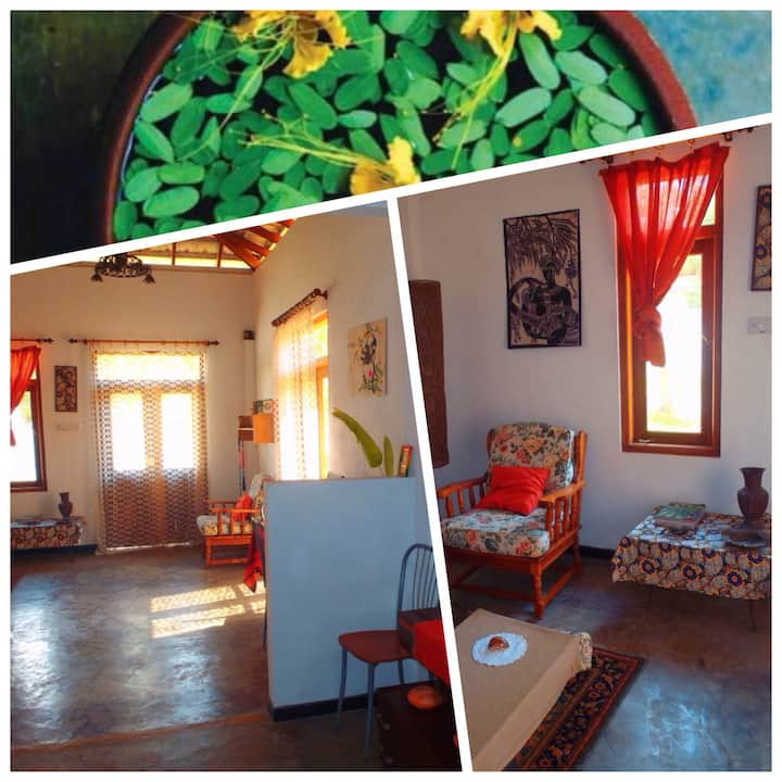 Casa Sole Luna, eco-home, Unawatuna