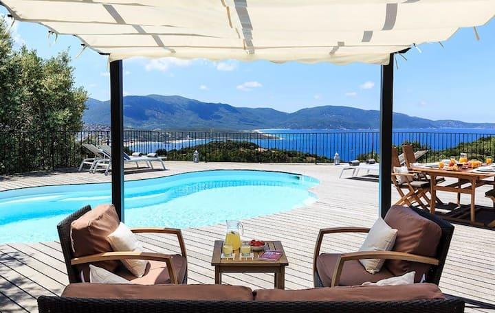 Villa 2 chambres et 2 SDB vue mer