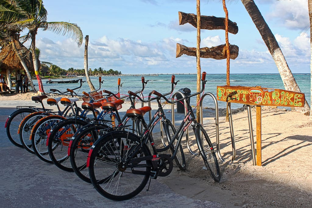 We have bicycles for you to rent