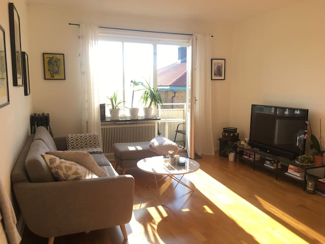 Super sweet apartment with city 10 minutes away