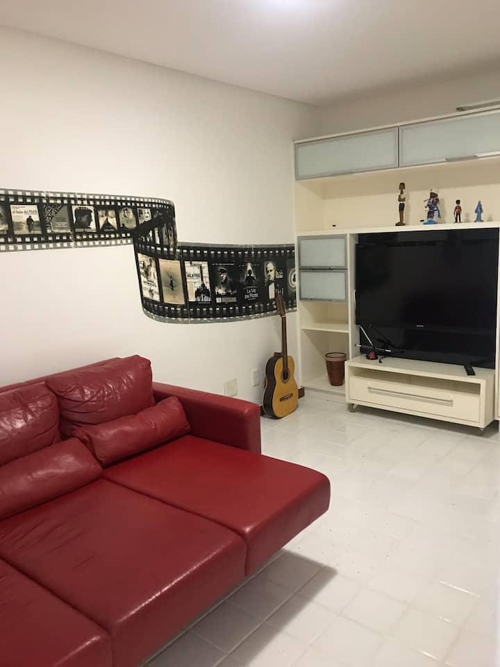 Quarto confortável em bairro nobre e seguro em VIX