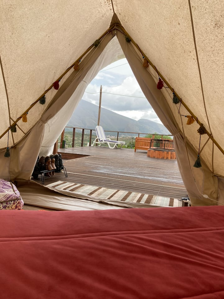 Harmonious Glamping With The Spirit of Villa.