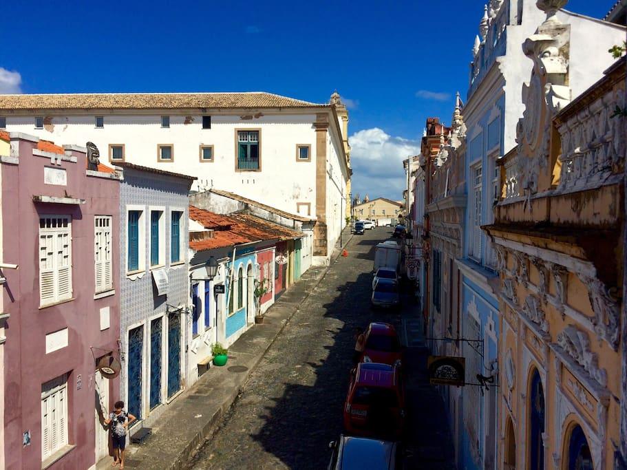 Vista para a Rua do Carmo / Carmo street view