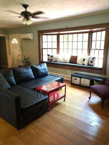 Beautiful 1950's bungalow on acre wooded lot