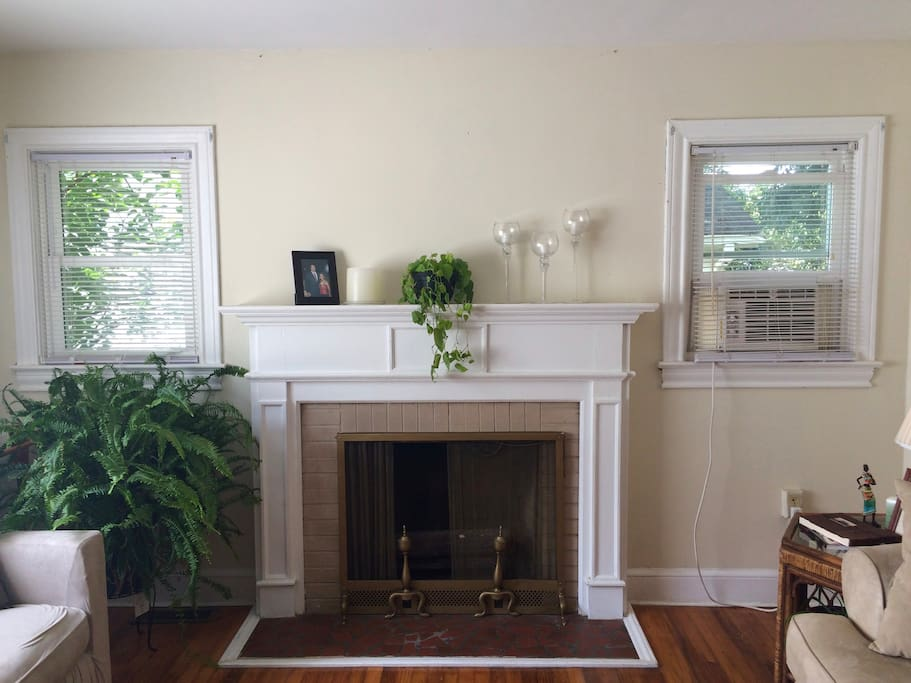 Functional Fireplace