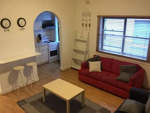 Master bedroom in the heart of Bondi Beach