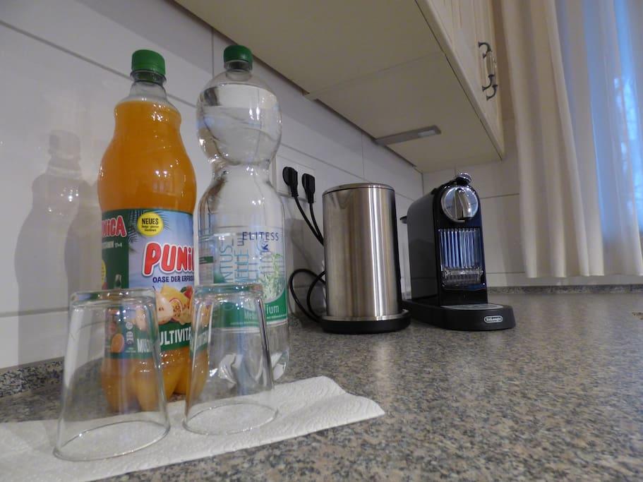 Kaffeemaschine,Wasserkocher