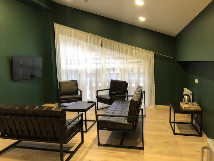 Family room with 2 bedrooms