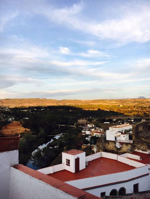 Foto desde la terraza