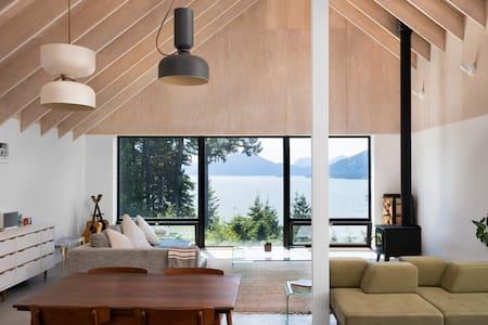 The Cedar House Nestled in the Sea to Sky