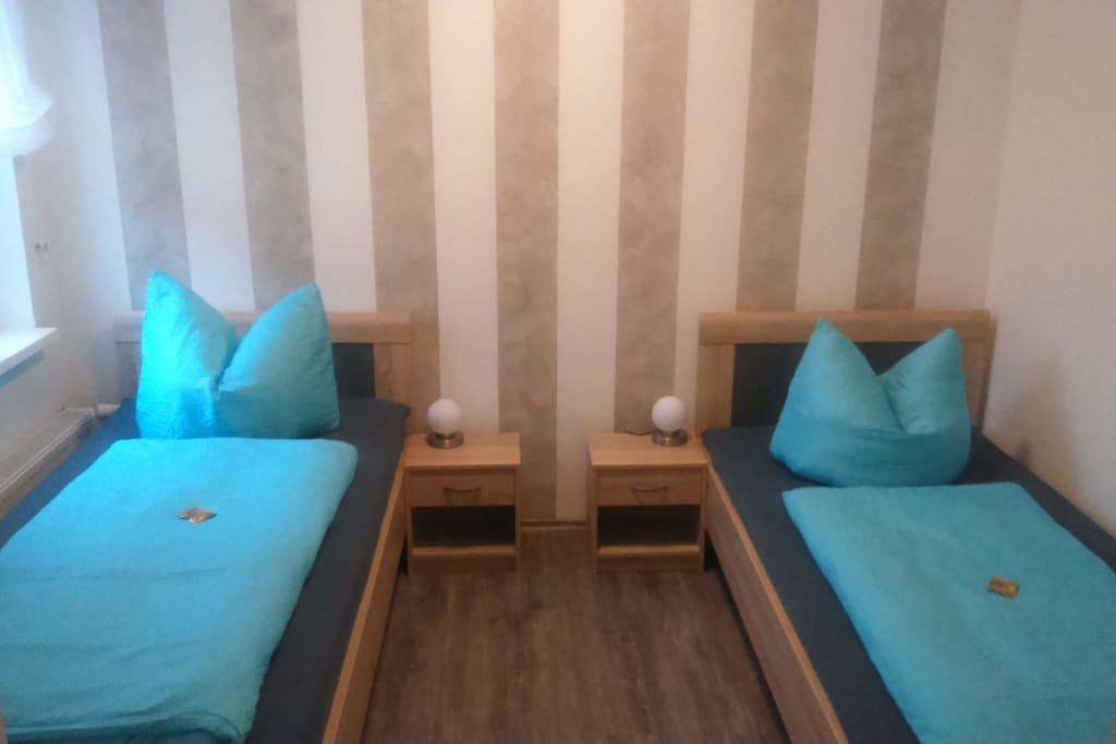 Schlafzimmer für 2 Personen (Tv)