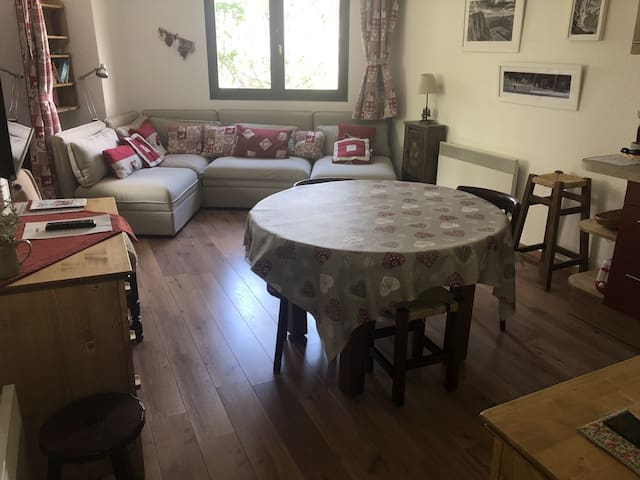 Appartement cosy Pra-loup 1600