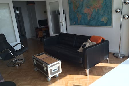 Paris 50m2 - Belle vue / Great view - Paris-19E-Arrondissement - Ortak mülk
