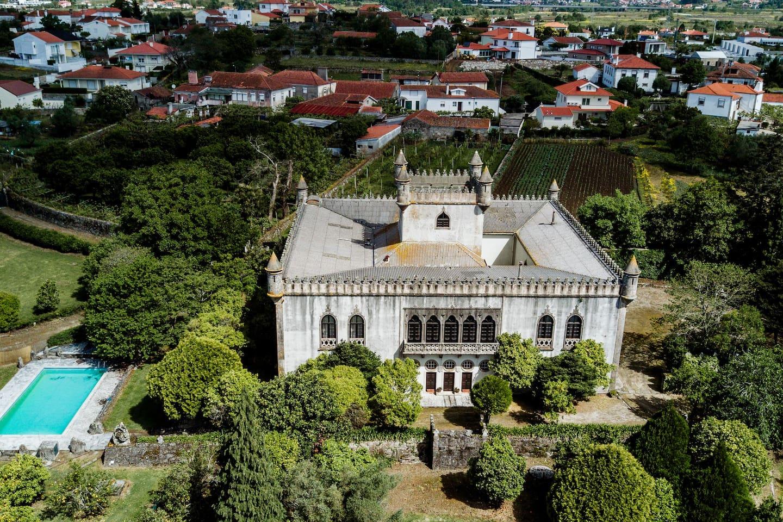 Bird´s view...Pic by Paulo Mainha at Castelo de Portuzelo.