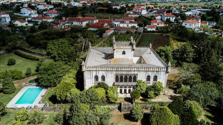 """""""Santa Marta de Portuzelo Castle"""""""