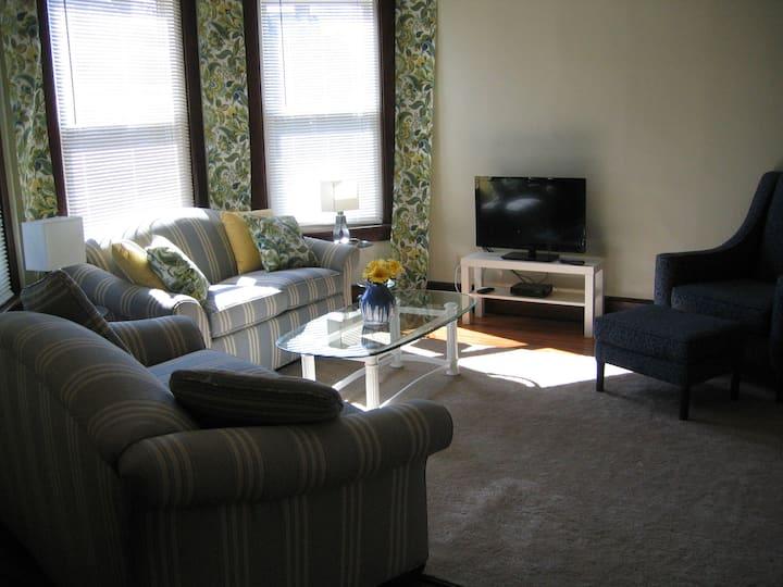 W1 Elegant, eclectic, spacious apartment