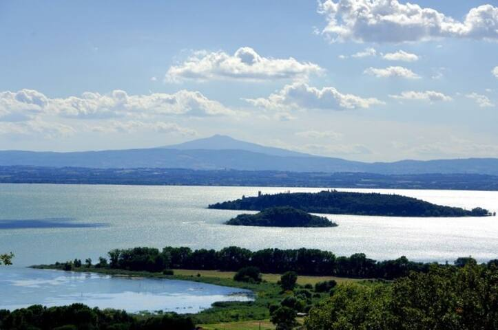 Trasimeno Lake - 40' drive