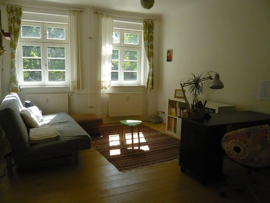 Modernes, gemütliches Wohnzimmer
