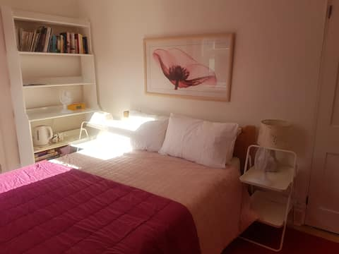 King size bedroom with ensuite shower room