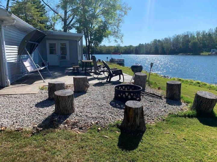 Country Lake House near Terre Haute and Sullivan